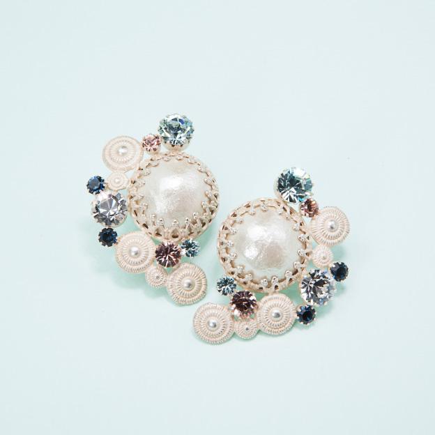 reine de primtimps - earrings A 春の女王-イヤリングA / hl-mgs-027