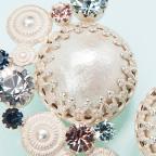 reine de primtimps - earrings A 春の女王-イヤリングA / hl-mgs-027 image02